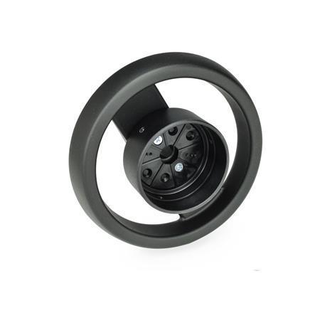 GN 522.8 Käsipyörät asennonilmaisimille Tyyppi: A - ilman kahvaa