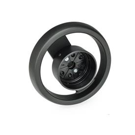 GN 522.8 Spoked Handwheels for Position Indicators Type: A - Without handle