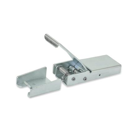 GN 8330 Toggle Latches, Steel Type: A - Without spring cotter pin