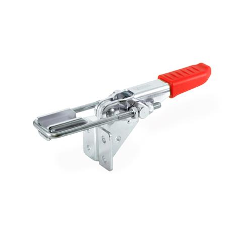 GN 851.2 Latch type toggle clamps for pulling action Type: T4 - with U-bolt latch, with catch