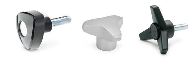Three-lobe knobs