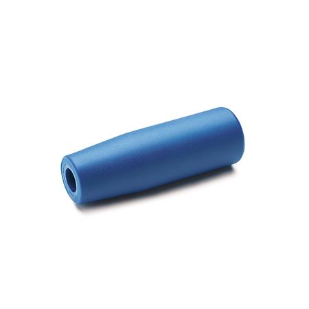 GN 519.2 Cylindrical Handles, Detectable, FDA Compliant Plastic Material / Finish: VDB - Visually detectable