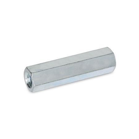 GN 6220 Abstandshalter, Stahl Werkstoff: ST - Stahl Form: A - Innengewinde