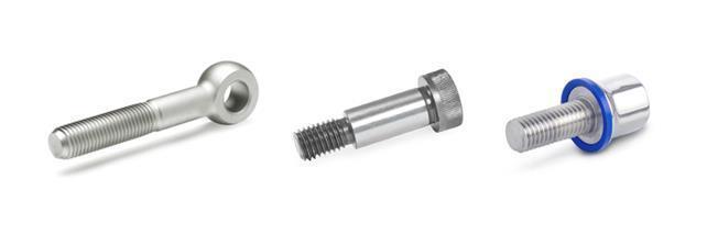 Swing bolts, Shoulder screws, Thrust bolts