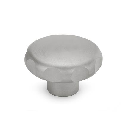 GN 5335.4 Stainless Steel-Star knobs, material no. AISI 316L (A4) Type: E - with threaded blind bore