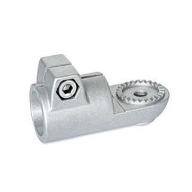GN 276 Laschen-Klemmverbinder, Aluminium Form: AV - mit Außenverzahnung<br />Oberfläche: BL - blank, matt gestrahlt