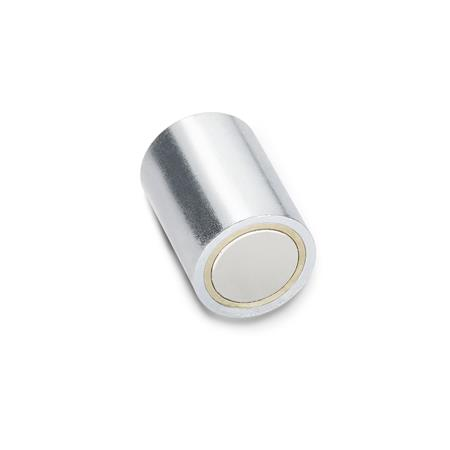 GN 52.1 Retaining magnets, without bore  Material of the magnet: ND - NdFeB