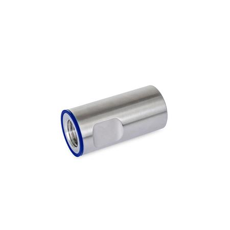 GN 20.1 Stainless Steel-Cover sleeves, Hygienic Design Material (Sealing ring): H - H-NBR