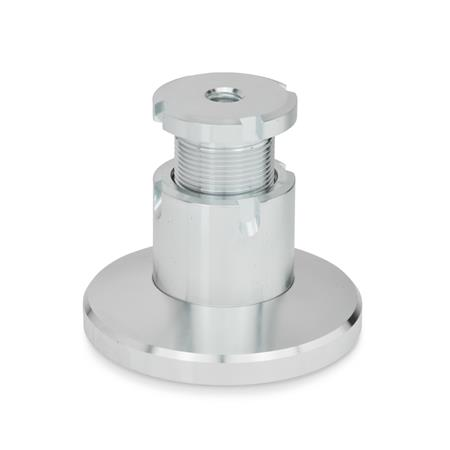 GN 360 Levelling sets, Steel Material: ST - Steel Type: A - without lock nut Foot diameter d<sub>1</sub>: 79