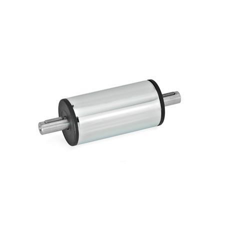 GN 391 Antriebs-/ Übertragungseinheiten, Stahl, Edelstahl Werkstoff: SCR - Stahl, verchromt