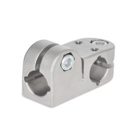 GN 191.1 T-angle linear actuator connectors, Stainless Steel