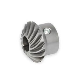 GN 297 Bevel gear wheels for linear actuators/ transfer units