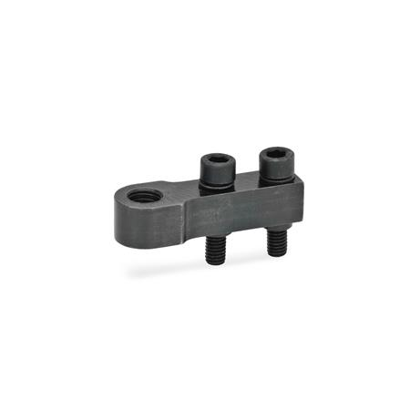 GN 867 Holders for clamping bolts Type: E - for one clamping bolt
