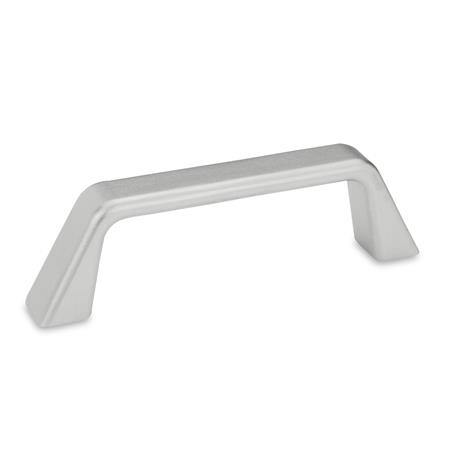GN 728.5 Stainless Steel-Cabinet U-handles Type: A - Mounting from the back (threaded blind bore)