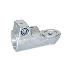 GN 276 Swivel clamp connectors, Aluminum Type: MZ - with centring step<br />Finish: BL - blank, tumbled